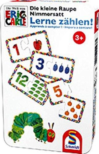 Schmidt Spiele 51238 - Die Kleine Raupe Nimmersatt, Lerne zählen (Baby-geschlecht-spiel)