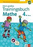 Klett Mein großes Trainingsbuch Mathematik 4. Klasse: Alles für den Übergang auf weiterführende Schulen. Mit Online-Übungen und Belohnungsstickern (Die kleinen Lerndrachen)