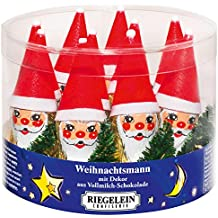 Milk Chocolate Foiled Christmas Santa with tree Full box 10 x 14g Sweets
