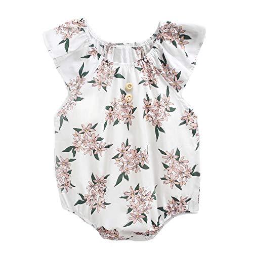 Babykleidung Mädchen Sommer 2019 Ärmelloses Schlingenkleid mit Zitronendruck und Haarband für Kinder Neugeborenes Säugling Baby Mädchen Strampler Jumpsuit Bodysuit Outfits Baby Body