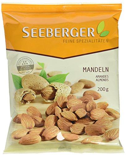 Seeberger Mandeln, 12er Pack (12 x 200 g Beutel)
