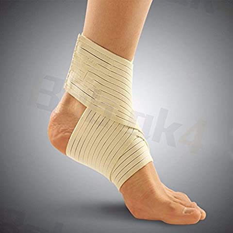 Ankle Support Elastic Brace Foot Sprain Injury Pain Wrap Splint Strap Belt