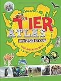 Tieratlas mit Stickern: Über 250 Sticker - Tiere aus aller Welt