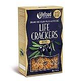 LIFEFOOD Life Crackers Olive 90g (bio, roh, vegan) Pikantbrot