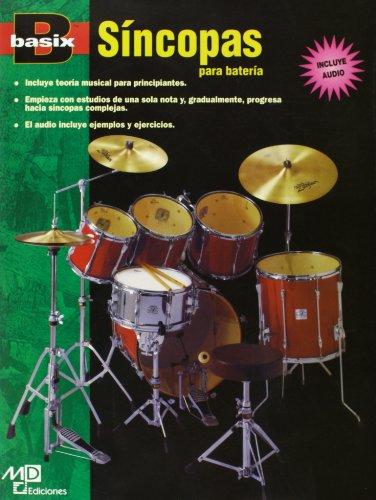 BASIX SINCOPAS PARA BATERIA+CD por Aa.Vv.