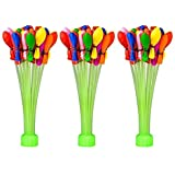 AARAVISION 1 Minute Automatic Fill Magic Water Balloons (111 Pieces) with free Holi Cap/Topi inside the Pack