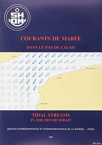 Carte marine : Courants des marées - Pas de Calais par Guide Epshom