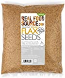 RealFoodSource Certified Organic Golden Flax / Linseeds (1KG)