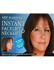 NEUE INSTANT FACELIFT und NECKLIFT Gesicht Hals LIFT KIT Bänder ANTI AGEING Streifen von Emmy preisgekrönte Make-up Künstler Art Harding (Dunkles Haar)
