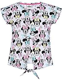Disney Minnie Chicas Camiseta Manga Corta - Gris