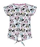 Disney Minnie Chicas Camiseta Manga Corta - Gris - 116