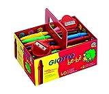 Giotto 4627 00 Schoolpack Superpastelli a Cera Be-Bè, 5 mm, Confezione da 40