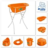 Rotho Babydesign 200210206AV BB Windeleimer Schildktöte, mandarin perl - 2