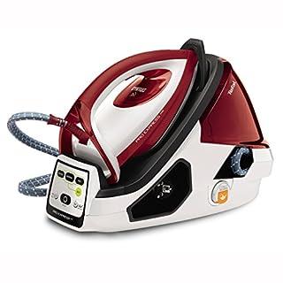 Tefal Pro Express Care GV9061 Dampfbügelstation (Variabler Dampf 0-120 g/min., Dampfstoß 480 g/min., automatische Abschaltung, 7,0 Bar) weiß/rot