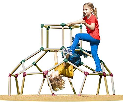 Lil' Monkey Dome d'escalade Cage à écureuil station de jeux extérieure