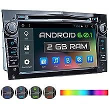 """XOMAX XM-2DA703 radio de coche para Opel / Corsa / Astra / Zafira con Android + GPS + 7 """" pantalla táctil + soporte WIFI + Bluetooth + puerto USB 2TB + Micro SD 128GB + DVD/CD + Internal memory 16GB"""