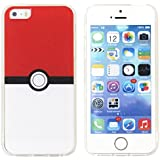 iPhone 5iPhone 5S iPhone se Pokemon móvil, Pokeball estilo móvil para iPhone 5S, iPhone se Pokemon Go móvil