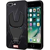 CellKraft Licensed Marvel Iron Man Hard Back Case Mobile Cover for Apple iPhone 8 Plus & 7 Plus (Multicolour)