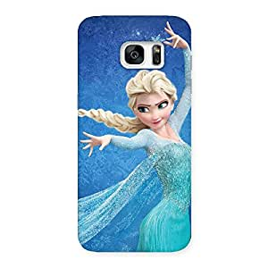 Delighted Angel And Cutness Back Case Cover for Galaxy S7 Edge