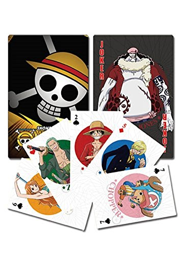 One Piece - 52 cartes à jouer poker - official licensed