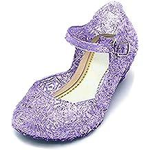GenialES Scarpe Sandali di Vestito Principessa Ragazze Carnaval Fiesta Cosplay