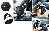 #7: Medineeds 1 Pcs Status Mini Power Handle Car Steering Wheel Knob (Black) for Toyota Camry [2012-2015]