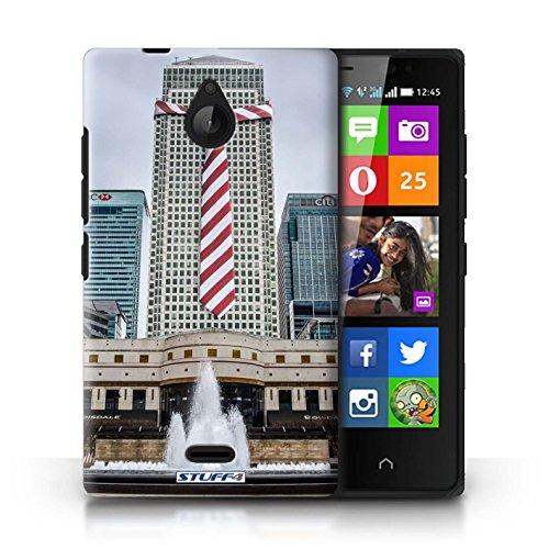 Stuff4 Hülle / Hülle für Nokia X2 Dual Sim / Anzüge Muster / Vorstellen Kollektion