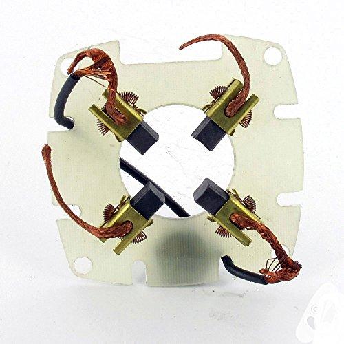 Kit supporto e carboncini adattabile per avviamento Tecumseh modelli es-33600, es-33605e es-33606
