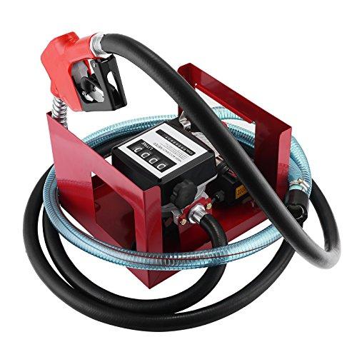 BuoQua 600W Heizölpumpe Selbstansaugend Dieselpumpe 40L / min Ölpumpe Elektrisch Ölabsaugpumpe -