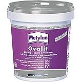 Metylan 11140Ovalit T Colle, Blanc, 750g