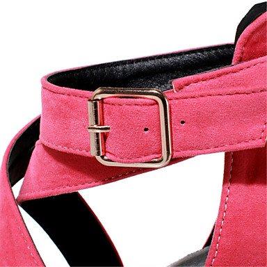 LvYuan Da donna-Sandali-Formale Serata e festa-Club Shoes-A stiletto-Velluto-Nero Blu Verde Rosa Grigio Arancione Green