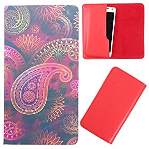 DooDa - For Lava Iris Fuel 25 PU Leather Designer Fashionable Fancy Case Cover Pouch With Smooth Inner Velvet