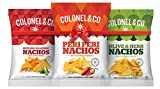 #7: Colonel and Co Nachos, Olive and Herb with Peri Peri and Sizzling Jalapenos, 60g (Pack of 3)