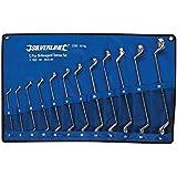 Silverline 627185 Jeu de 12 clés à oeil double bi-coudées 6 - 32 mm