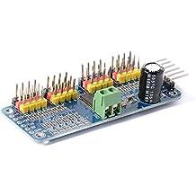 Xcsource PCA9685 16 Kanal 12 Bit PWM Servo Motor Treiber IIC Schnittstelle I2C Modul für Arduino Roboter TE477