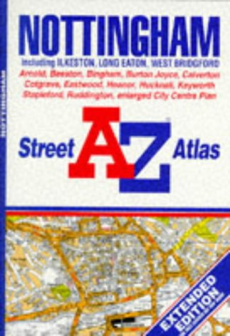 A. to Z. Street Atlas of Nottingham (A-Z Street Atlas) for sale  Delivered anywhere in UK