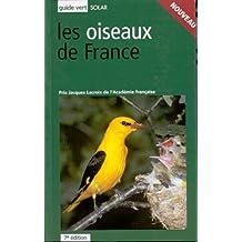 Le guide vert des Oiseaux de France