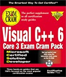 McSd Visual C++ 6 Core 3 Exam Cram Pack (Exam Cram (Coriolis Books))