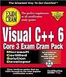 McSd Visual C++ 6 Core 3 Exam Cram Pack (Exam Cram (Coriolis Books))