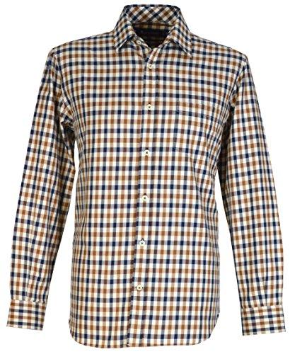 aquascutum-camisa-casual-clsico-para-hombre-marrn-vicuna-medium