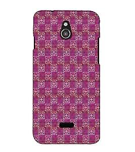 Fuson Designer Back Case Cover for InFocus M2 (Green flower theme)