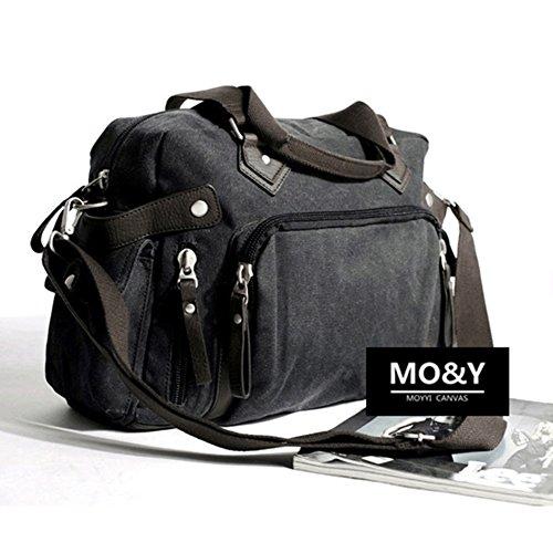Mode-Canvas-Handtasche/Messenger Taschen für Herren/Lässige Umhängetasche/Schultaschen/Mann Tasche Reisetasche-A A