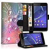 Book Style Alcatel One Touch Go Play 7048X Premium PU-Leder Tasche Flip Brieftasche Handy Hülle Kartenfächer mit Standfunktion für Alcatel One Touch Go Play 7048X - Design Flip MVX60