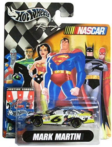 hot-wheels-nascar-racing-justice-league-6-mark-martin-batman-pfizer-164-scale-car