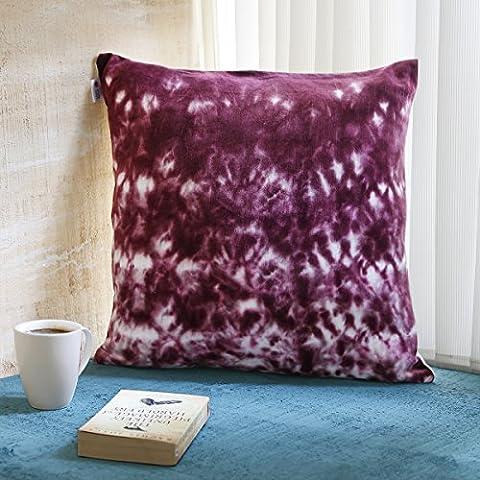 Regalos de Navidad 18 x 18 Juego de 2 100% algodon almohadilla de almohadilla de tiro cuadrado cubre casos con cierre de cremallera y motivos de Navidad impresos para sofa de decoracion de