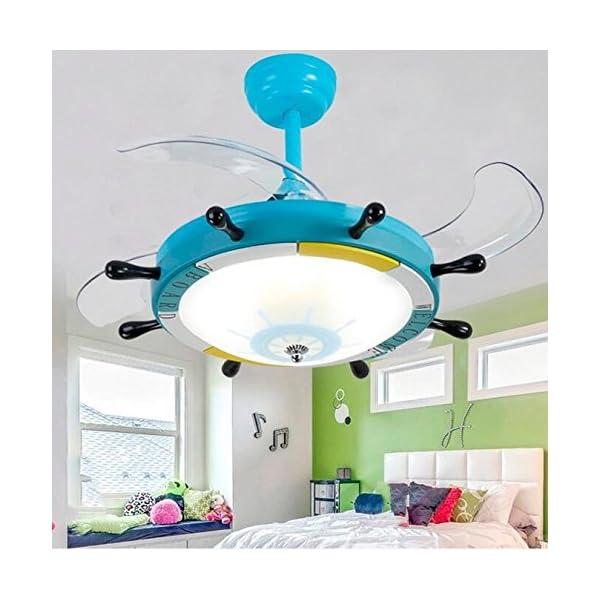 El-Timn-del-Barco-invisibles-Ventilador-de-techo-Luz-24-W-luz-dimmen-habitaciones-Joven-Dormitorio-restaurante-variable-Frecuencia-Ventilador-ligero-Mediterrneas-Ventilador-de-techo-con-luz-Dimetro-de
