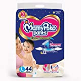 MamyPoko Pants Extra Absorb Diaper, Large (44 Count)