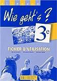 Allemand 3ème Wie geht's ? : Fichier d'utilisation