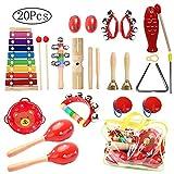 Juguetes de Instrumentos Musicales para Niños, 20 piezas Juguetes...