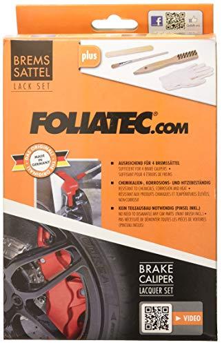 Foliatec 2162 kit verniciatura pinze freni rs-blu3 componenti, blu blue